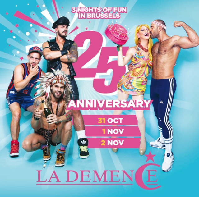 La Demence, 25th Anniversary, Brussels, 31 October, 1-2 November 2014