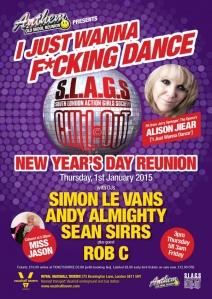 I Just Wanna F*cking Dance, Royal Vauxhall Tavern, New Year's Day 2015