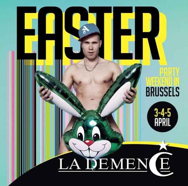 La Demence, Brussels, Easter 2015