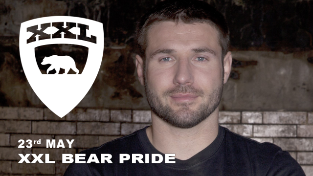 Ben Cohen, XXL Bear Pride, London, Saturday 23 May