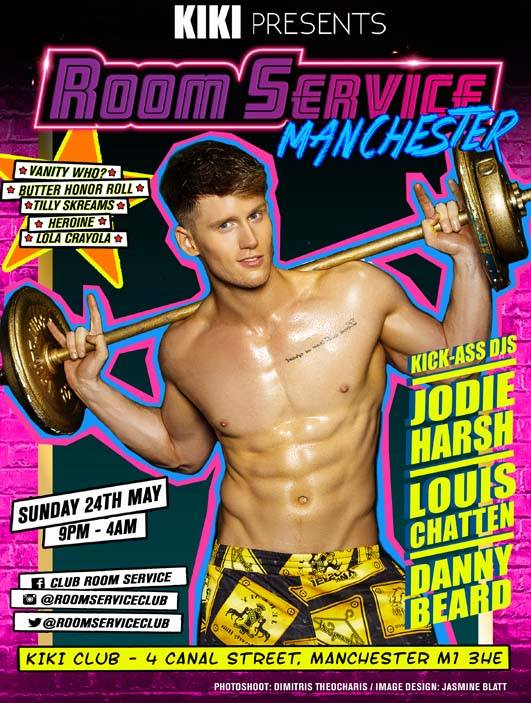 Room Service Kiki Manchester Sunday 24 May 2015