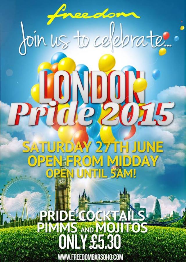 Freedom Bar Pride 2015