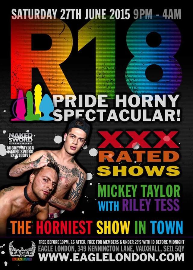 R18 Pride Mickey Taylor Riley Tess