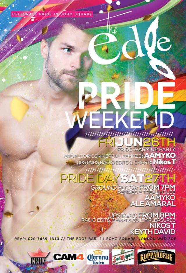 The Edge Pride 2015