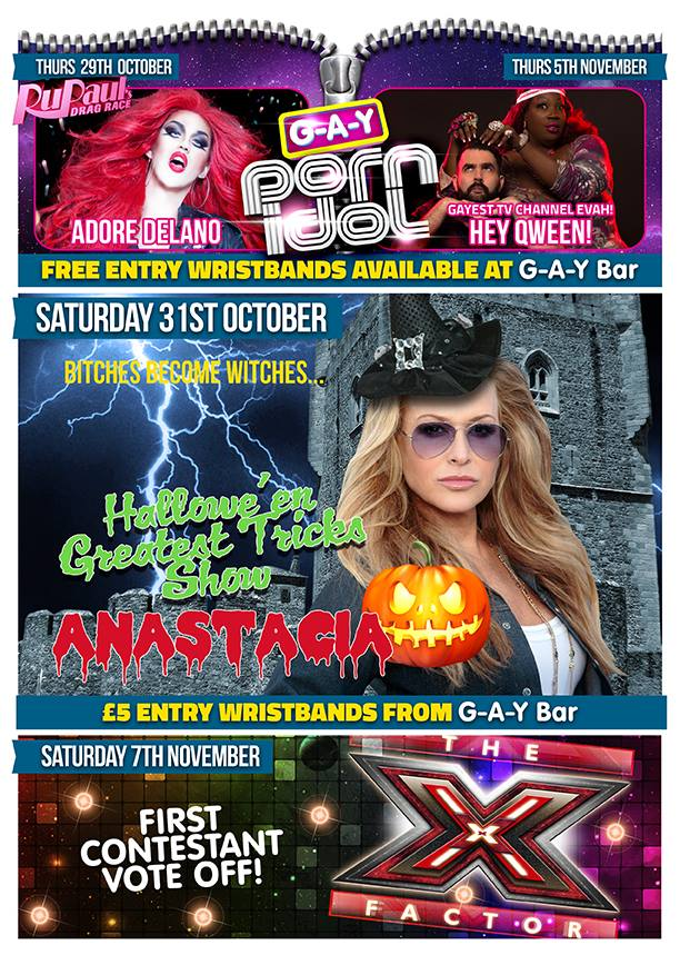 Halloween GAY at Heaven London