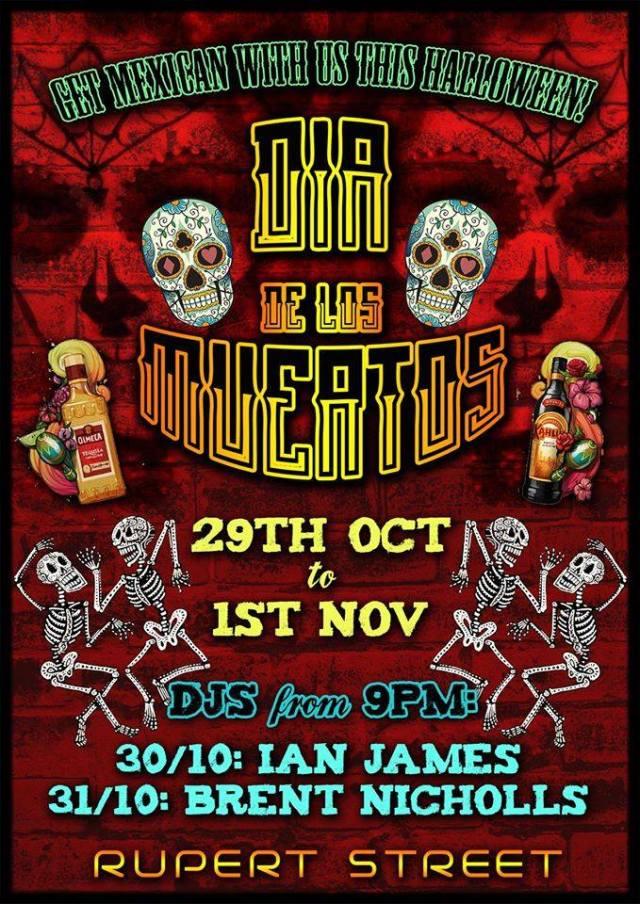 Rupert Street Soho Halloween