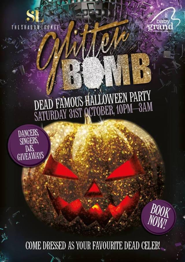 Halloween Glitter Bomb Shadow Lounge
