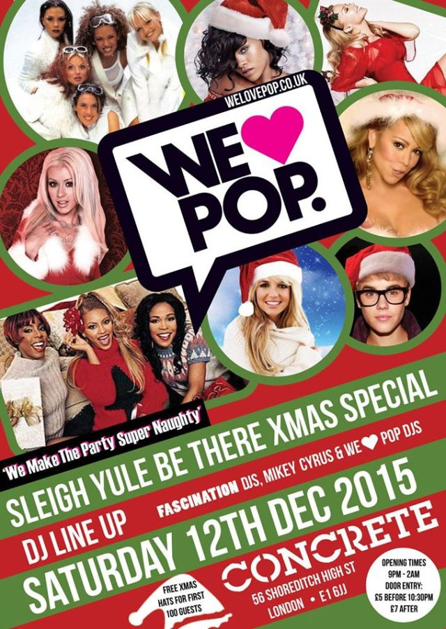 We Love Pop Sleigh Yule Be There Christmas 2015