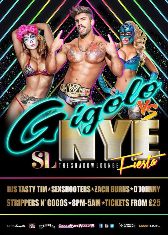 Gigolo New Years Eve 2015, The Shadow Lounge, London