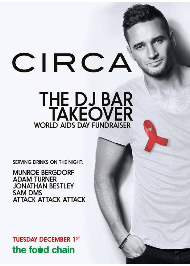 Circa, World AIDS Day, Soho, 1 December 2015