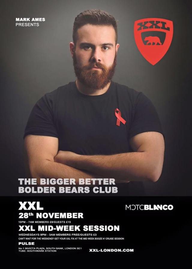 Moto Blanco, XXL, World AIDS Day 2015