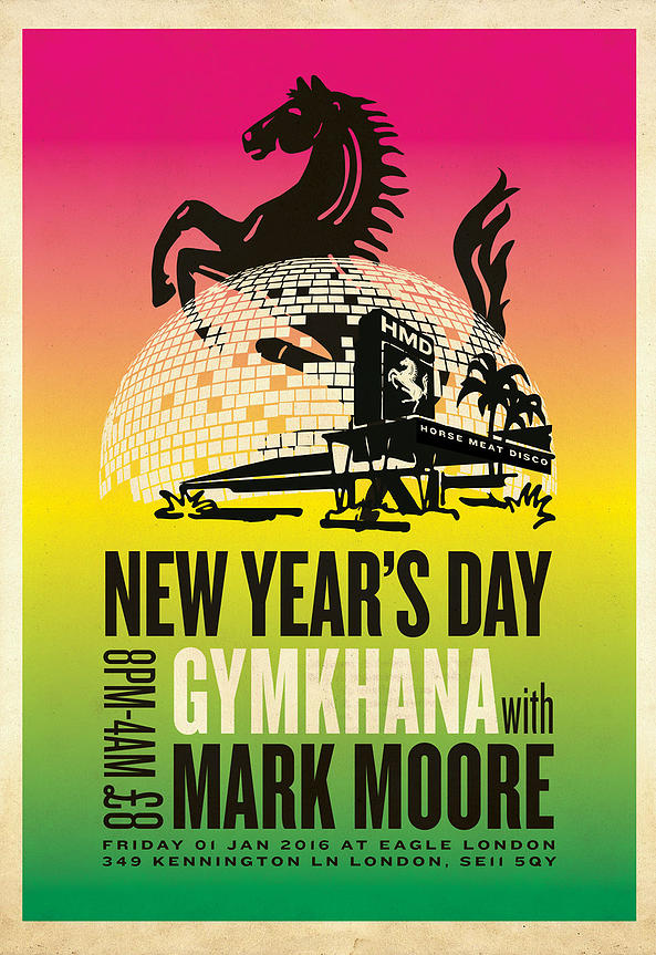 Horse Meat Disco New Year's Day Gymkhana with Mark Moore
