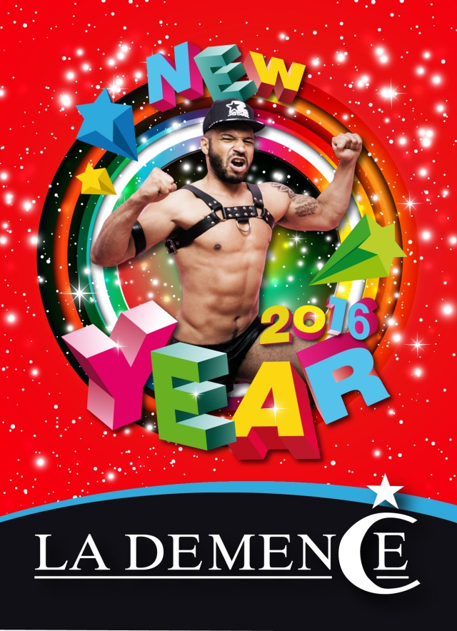 La Demence, Brussels, New Year 2016