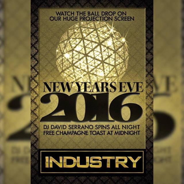 Industry Bar, New York, New Year's Eve 2016