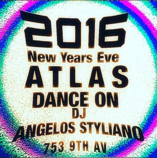 Atlas Social Club, New York, New Year's Eve 2015